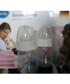 Bình trữ sữa máy hút sữa Sanity đôi