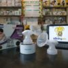 bộ cổ phễu máy hút sữa Biohealth điện đôi