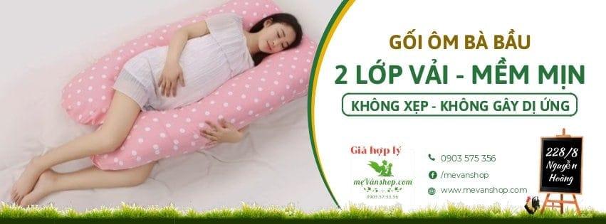 Gối ôm bà bầu có địa chỉ: 228/8 Nguyễn Hoàng,Đà Nẵng