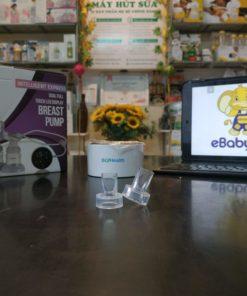 van một chiều máy hút sữa biohealth điện đôi